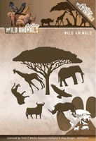 Amy Design Die ADD10107 Wild Animals/wilde dieren