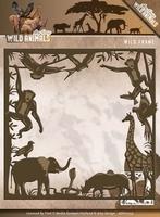 Amy Design Die ADD10103 Wild Animals Wild frame