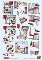 3D Knipvel Amy Design CD10881 Maritime Meeuwen