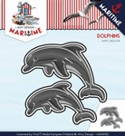 Amy Design Die Maritime ADD10102 Dolphins/dolfijnen