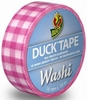 Duck tape Washi 104-013 Pink Check