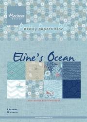 MD Pretty Papers bloc PB7052 Eline's ocean
