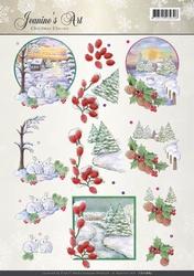 A4 Knipvel Jeanines Art CD10885 Christmas Classic Landscapes