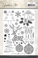 Clearstamp Jeanines Art JACS10004 Christmas Classics
