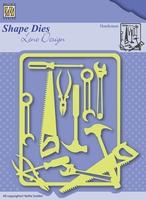 Nellie's Shape Dies Lene Design SDL040 Men things Handyman