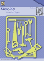 Nellie's Shape Dies Lene Design SDL040 Men things Handyman