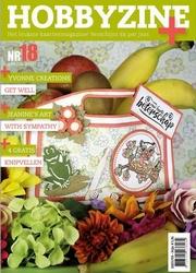 Hobbyzine Plus 18 + Yvonne's Die YCD10104 Get well flower