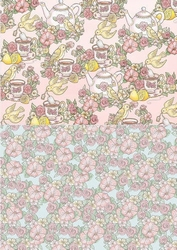 Background vel BGS10036 Get Well Soon Lemon tea