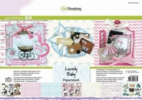 CraftEmotions Paper stack 118040/0206 Lovely Baby