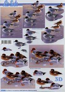 A4 Knipvel Le Suh 777016 Vogels eenden
