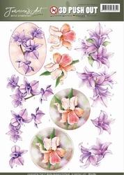 3D Pushout Jeanines Art 10180 With Sympathy Sympathy flowers