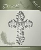 Jeanines Art Die JAD10012 With Sympathy Cross/kruis