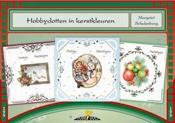 Hobbydols 199 Hobbydotten in kerstkleuren + poster + 12