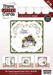 Linnen Layered Frame Cards LC4K10015/- 4kant
