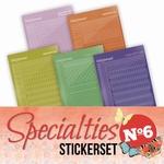 Stickerset Specialties  6 SPECSTS006