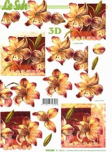 A4 Knipvel Le Suh 4169829 Bloemen lelies