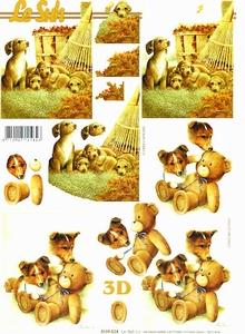 A4 Knipvel Le Suh 4169824 Dieren puppies