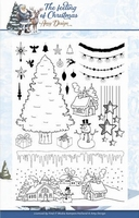 Amy Design Clearstamp ADCS10019 The feeling of Christmas