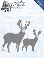 Amy Design Die ADD10115 The feeling of Christmas Reindeers