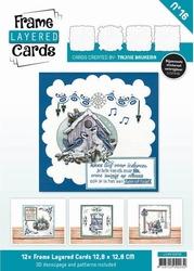 Linnen Layered Frame Cards LC4K10016/- 4kant
