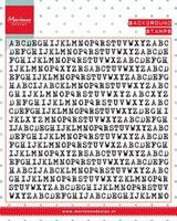 MD Clear Stamp CS0992 Background: typewriter