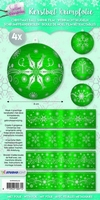 Studio Light Kerstbal krimpfolie  3 SL03 Sparkling Christmas