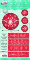 Studio Light Kerstbal krimpfolie  4 SL04 Sparkling Christmas