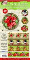 Studio Light Kerstbal krimpfolie  9 SL09 Classic Christmas