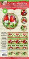 Studio Light Kerstbal krimpfolie 10 SL10 Classic Christmas