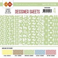 Card Deco Designer Sheets CDDSMG004 Sweet Pet Meigroen