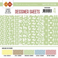 Card Deco Designer Sheets CDDSMG004 Sweet Pet Meigroen
