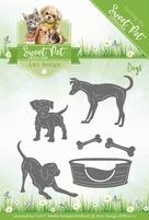 Amy Design Die Sweet Pet ADD10117 Dogs/honden