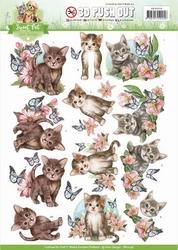 3D Stansvel Amy Design SB10196 Sweet Pet Cats/katten