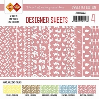 Card Deco Designer Sheets CDDSMG004 Sweet Pet Oudroze