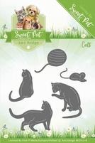 Amy Design Die Sweet Pet ADD10118 Cats/katten