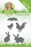 Amy Design Die Sweet Pet ADD10119 Rodents and Birds