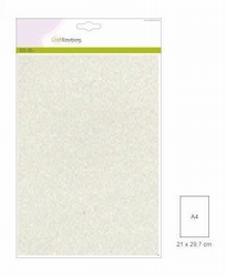 CraftEmotions Glitterpapier A4 158 champagne