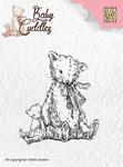 Nellie`s Choice Clearstamp CSBC004 Baby Cuddles Teddybears