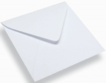 Vierkante Enveloppen Wit