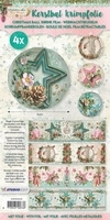 Studio Light Kerstbal krimpfolie  8 SD08 Shabby chic