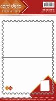 Card Deco Cutting Dies CDCD10006 Frame Card Stamp A5