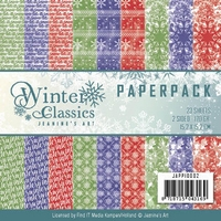 Paperpack Jeanines Art JAPP10002 Winter Classics