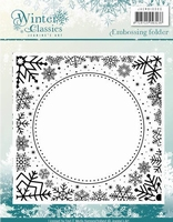 Embossingfolder Jeanine's JAEMB1003 Winter Classics IJs