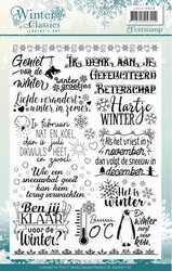 Clearstamp Jeanines Art JACS10006 Winter Classics Teksten