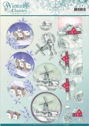 A4 Knipvel Jeanines Art CD10967 Winter Classics Landscapes