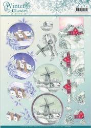 A4 Knipvel Jeanines Art CD10967 Winter Classics Landscapes