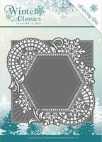 Die Jeanines Art JAD10015 Winter Classics Mosaic frame
