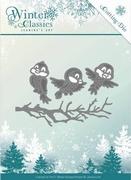 Die Jeanines Art JAD10027 Winter Classics Winter birds
