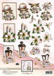 3D Knipvel Ann's Paper Art APA3D019 Christmas Decorations