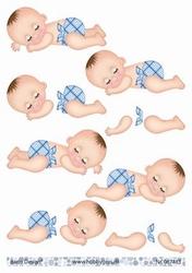 A4 Knipvel Barto Design 67483 Baby boy